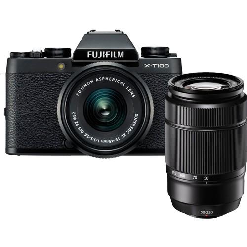 Fujifilm X-T100 Kit - Frontansicht