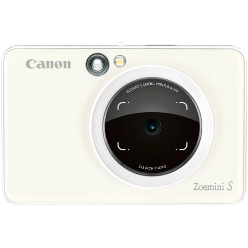 Canon Zoemini S Sofortbildkamera weiss - Frontansicht