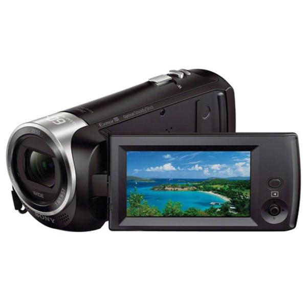 Sony HDR-CX405 HD Camcorder - Schrägansicht