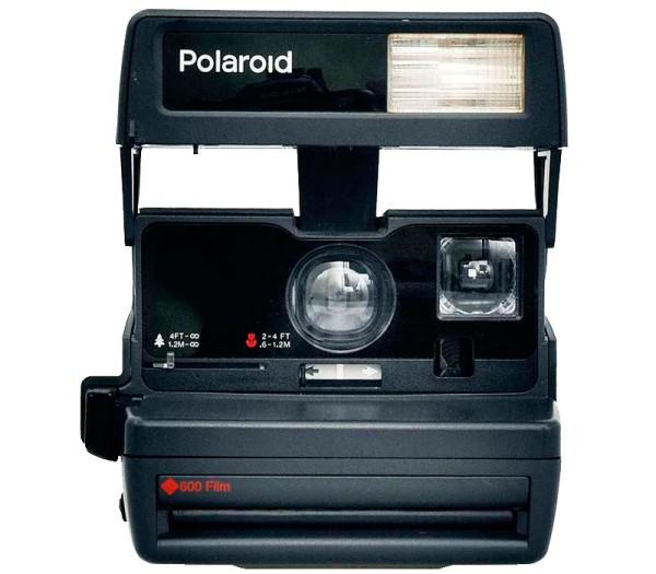 Polaroid 600 80's style - Musterbild