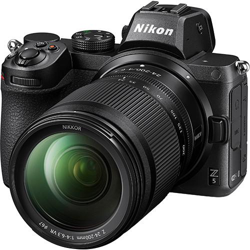 Nikon Z5 Kit mit Z 24-200 f/4.0-6.3 VR Objektiv