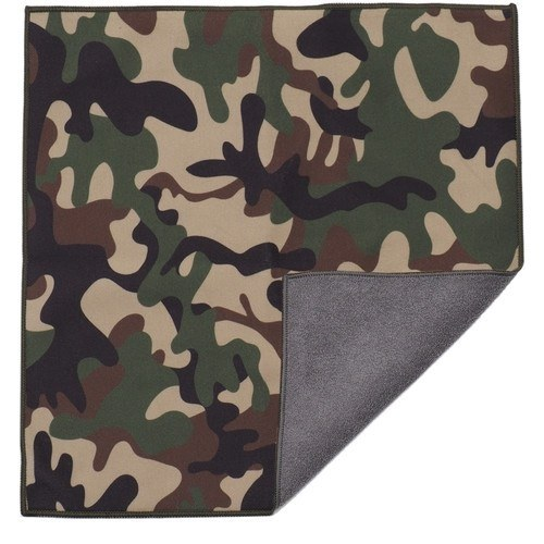 Easy Wrapper selbsthaftendes Einschlagtuch camouflage (35 x 35 cm) - Frontansicht