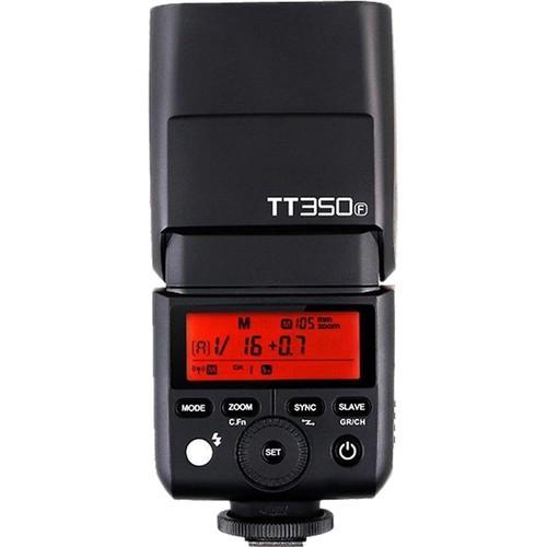 Godox TT350F Mini TTL Blitz für Fujifilm - Hinteransicht