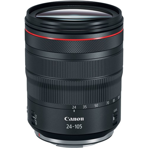 Canon RF 24-105mm f/4L IS USM Objektiv - Frontansicht