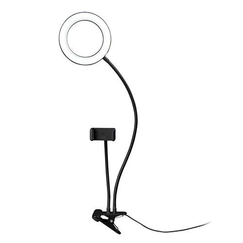 Dörr SLR16 LED Selfie Ringlicht Bi-Color
