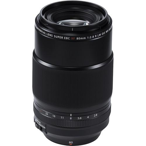 Fujifilm XF 80mm f/2.8 Objektiv - Frontansicht
