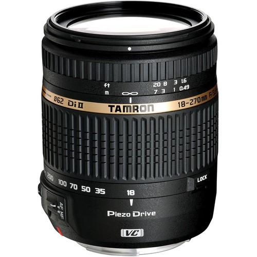 Tamron AF 18-270mm f/3.5-6.3 Di II VC PZD Objektiv für Nikon