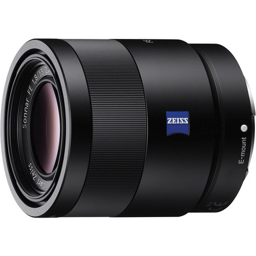 Sony SEL FE 55mm F1.8 ZA Sonnar T* Zeiss - Frontansicht