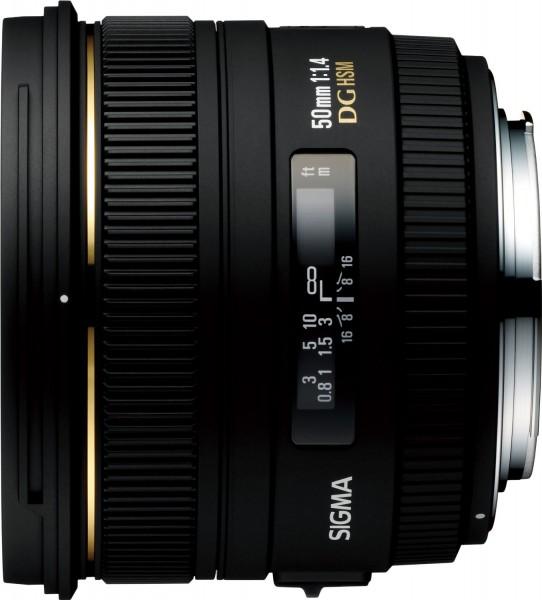 Sigma AF 50mm f/1.4 EX DG HSM Objektiv für Nikon