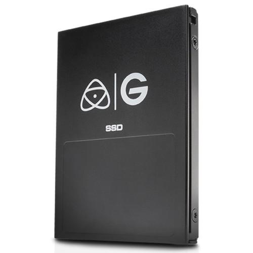 G-Technology 1TB Atomos 4K Master Caddy Festplatte - Schrägansicht