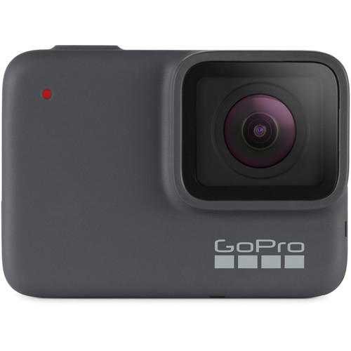 GoPro Hero 7 Silber Action Kamera - Frontansicht