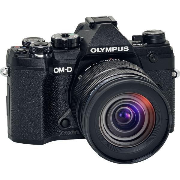 Olympus OM-D E-M5 Mark III Kit mit 12-45mm Objektiv Schwarz