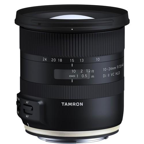 Tamron AF 10-24mm f/3.5-4.5 Di II VC HLD Objektiv - Frontansicht