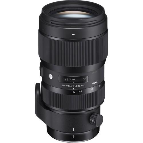Sigma 50-100mm f/1.8 DC HSM Art Objektiv für Nikon