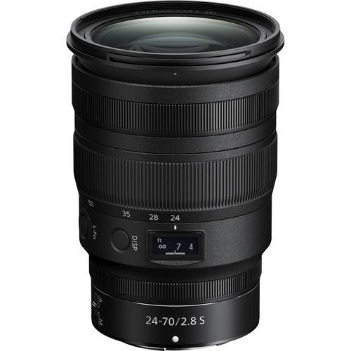 Nikon Z 24-70mm f/2.8 S Objektiv - Frontansicht