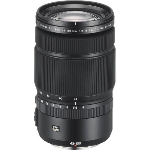 Fujifilm GF 45-100mm f/4 R LM OIS WR Objektiv - Frontansicht