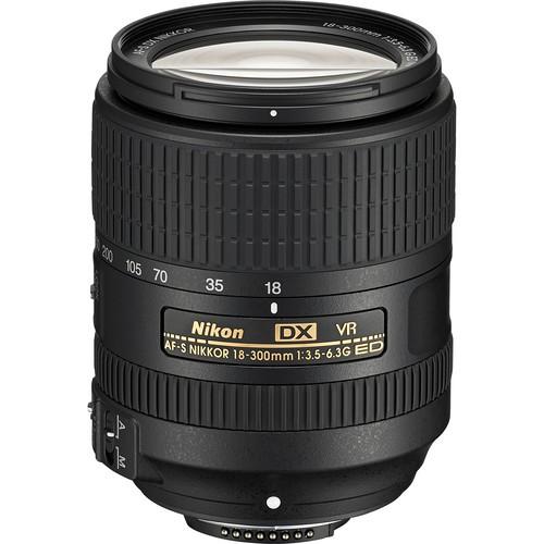 Nikon AF-S DX Nikkor 18-300mm f/3.5-6.3 G ED VR Objektiv