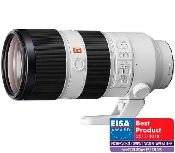 Sony FE 70-200mm f/2.8 GM OSS Objektiv - Frontansicht