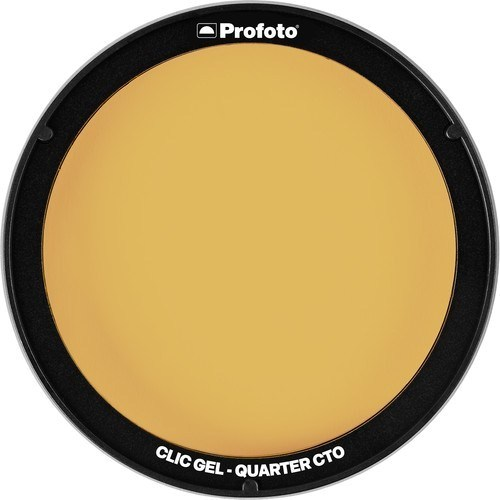 Profoto Clic Gel orange - Vorderseite