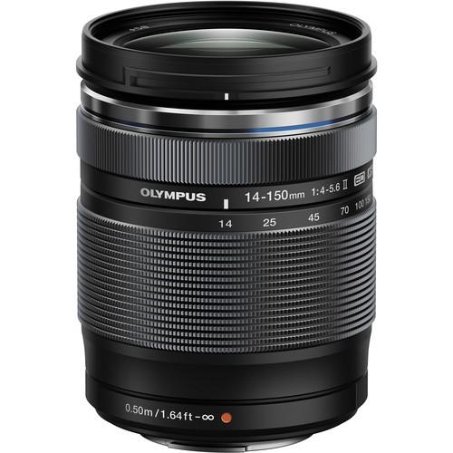 Olympus M.Zuiko Digital ED 14-150mm F4.0-5.6 II - Frontansicht