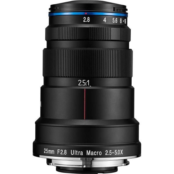 Laowa 25mm f/2.8 Ultra Macro 2,5-5x für Sony-E