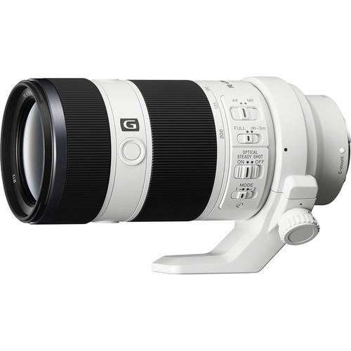 Sony FE 70-200mm F4.0 G OSS Objektiv - Frontansicht