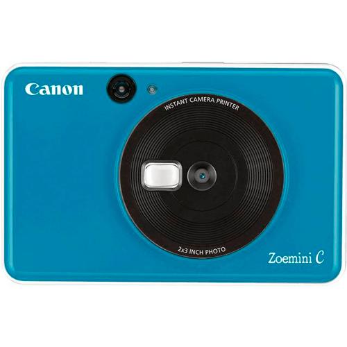 Canon Zoemini C Sofortbildkamera blau - Frontansicht