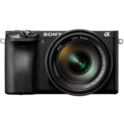 Sony Alpha 6500 Kit - Frontansicht