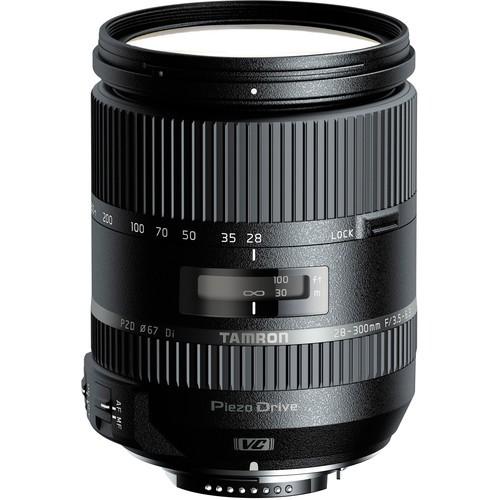 Tamron AF 28-300mm f/3.5-6.3 Di VC PZD Objektiv für Nikon