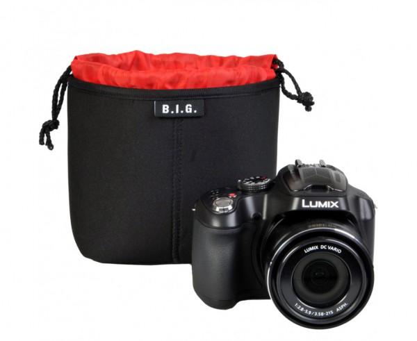B.I.G. PC14 Neopren Kamerabeutel - Frontansicht