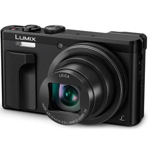 Panasonic Lumix DMC-TZ81 schwarz - Schrägansicht