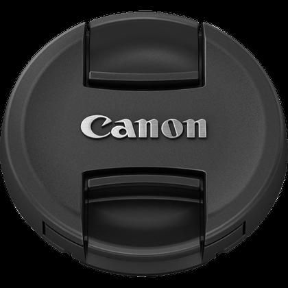 Canon E-55 Objektivdeckel - Frontansicht