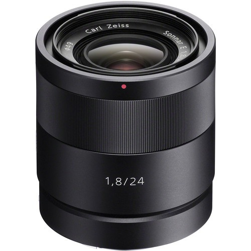 Sony Sonnar T* E 24mm f/1.8 ZA Objektiv - Frontansicht