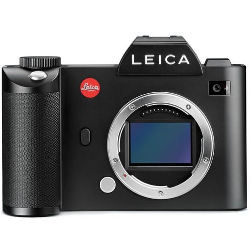 Leica SL (Typ 601) Body schwarz - Frontansicht