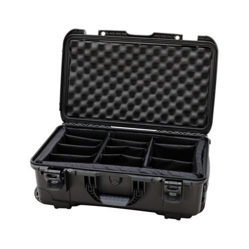 Nanuk Koffer mit Trennwänden 935-2001 (schwarz)