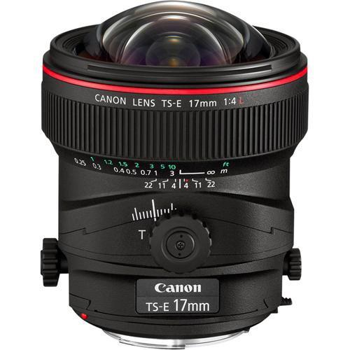 Canon TS-E 17mm f/4 L Objektiv - Frontansicht
