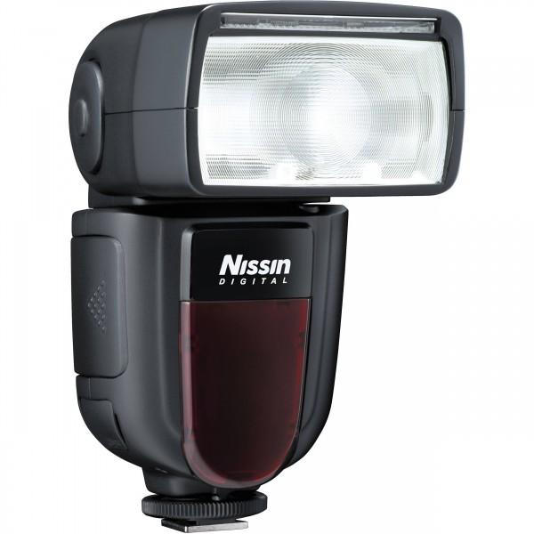 Nissin Di700A Blitzgerät für Nikon - Seitenansicht