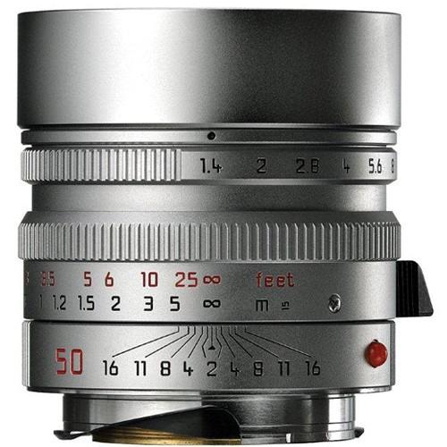 Leica Summilux-M 50mm f/1.4 ASPH. Objektiv silber 11892