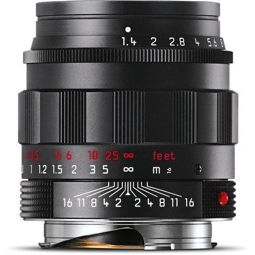 Leica Summilux-M 50mm f/1.4 ASPH. Objektiv - Frontansicht
