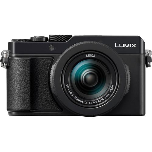 Panasonic Lumix DC-LX100 II Kompaktkamera - Frontansicht