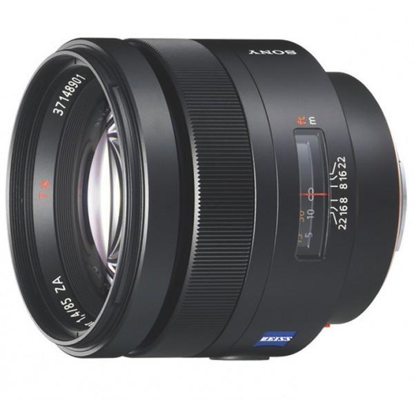 Sony SAL 85mm f/1.4 ZA Planar T* Zeiss Objektiv