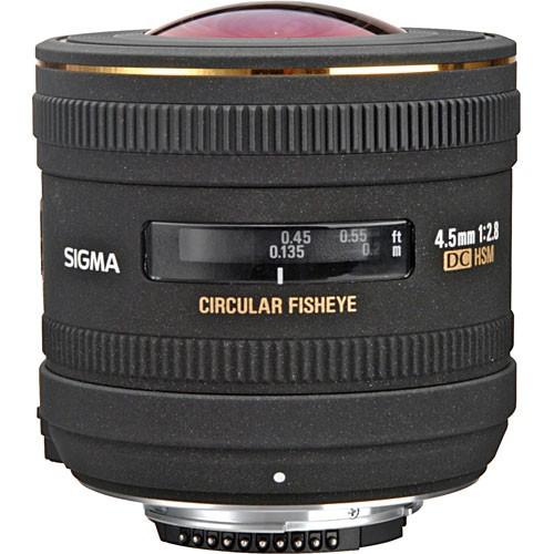 Sigma AF 4.5mm f/2.8 EX DC Zirkular-Fisheye HSM Objektiv für Canon