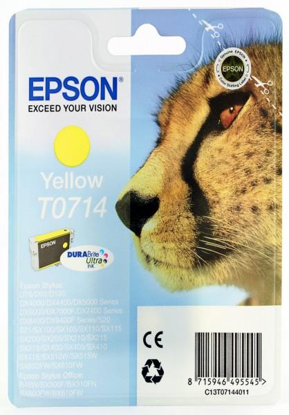 Epson T0714 Tintenpatrone gelb für D78