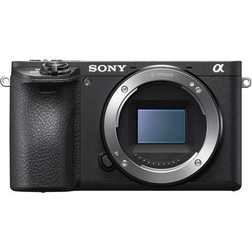 Sony Alpha 6500 Gehäuse - Frontansicht
