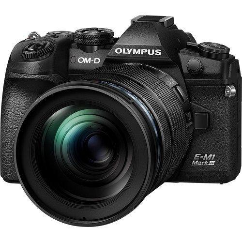 Olympus OM-D E-M1 Mark III Kit - Schrägansicht
