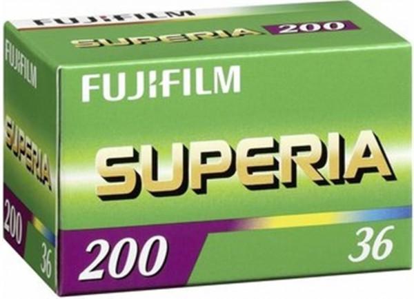 Fujifilm Superia 200 CA 135-36 Film (36 Bilder)