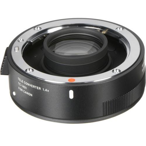Sigma Telekonverter 1.4x TC-1401 für Canon - Frontansicht