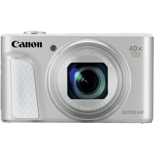 Canon Powershot SX730 HS silber - Frontansicht