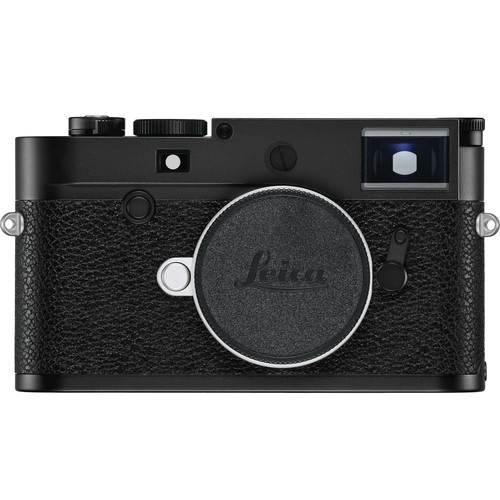 Leica M10-P Gehäuse schwarz - Frontansicht