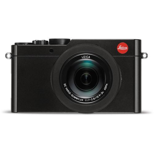 Leica D-Lux Typ 109 schwarz - Frontansicht